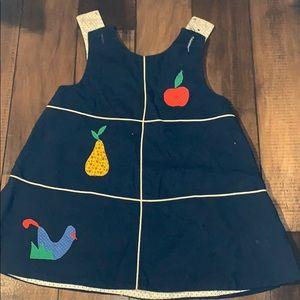Vintage toddler clothing navy jumper size 3T
